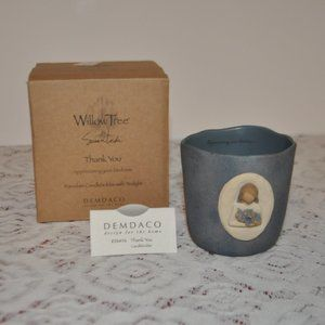NWOT Willow Tree Thank u Candle Holder w/Tealight